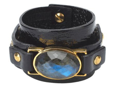 Zara Simon for Felder Felder black sapphire cuff