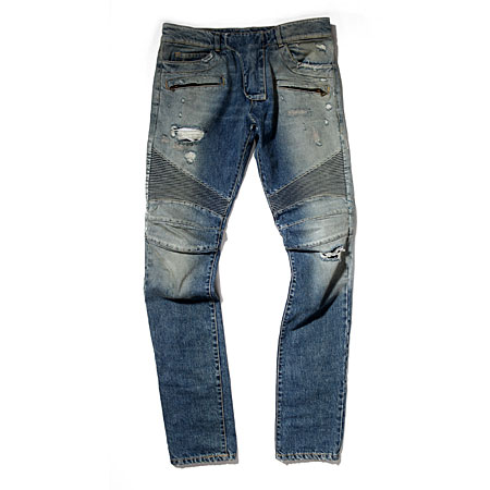 Balmain biker pants