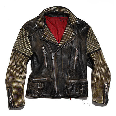 Bess NYC leather moto jacket