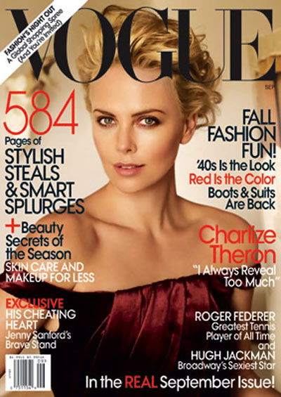 Charlize Theron Vogue 2009