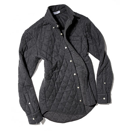 Opening Ceremony quilted dress shirt