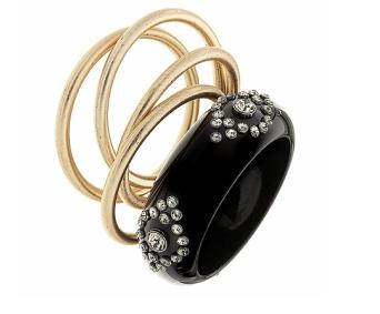 Top Shop Rhinestone Bangle Pack