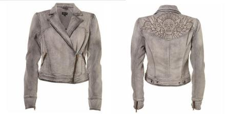 Top Shop Skull Biker Jacket
