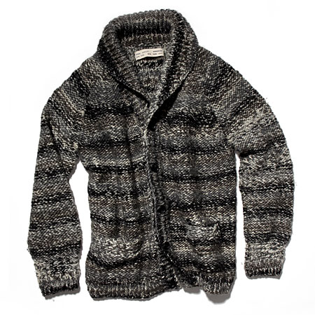 Yigal Azrouël Mélange wool knit sweater-jacket