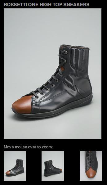 Fratelli Rossetti One High Top Sneaker