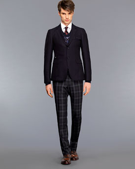 Gucci Sport Jacket and Wool Pants