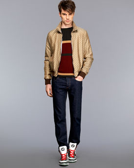 Gucci Track jacket and jeans NM-27M7_mf