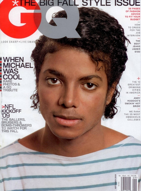 Michael Jackson GQ Cover