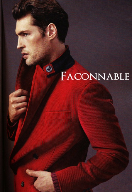 Faconnable Red Blazer